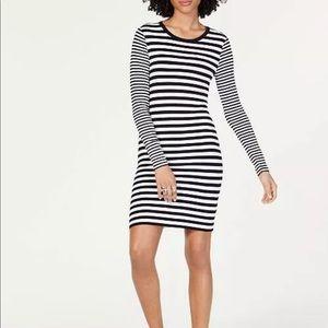 MICHAEL Michael Kors dress horizontal stripes